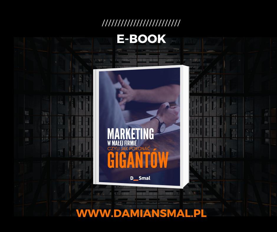 E-book Marketing w małej firmie czyli jak pokonać gigantów